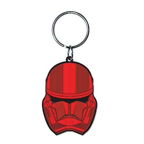 Star Wars Sith Trooper Keyring Rubber Keychain Fob